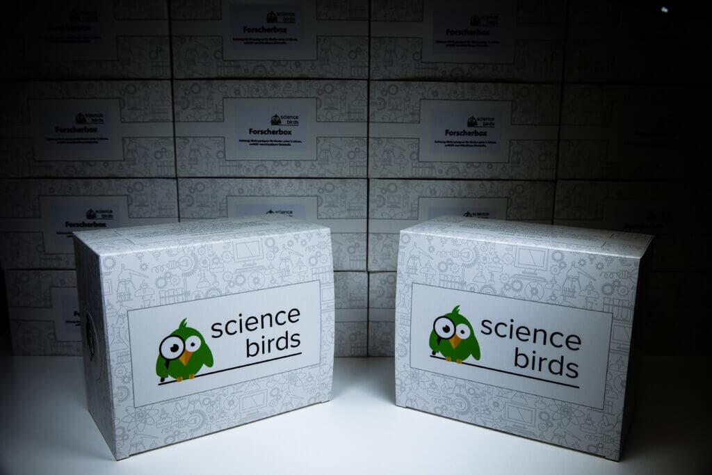 Neue Forscherboxen!
